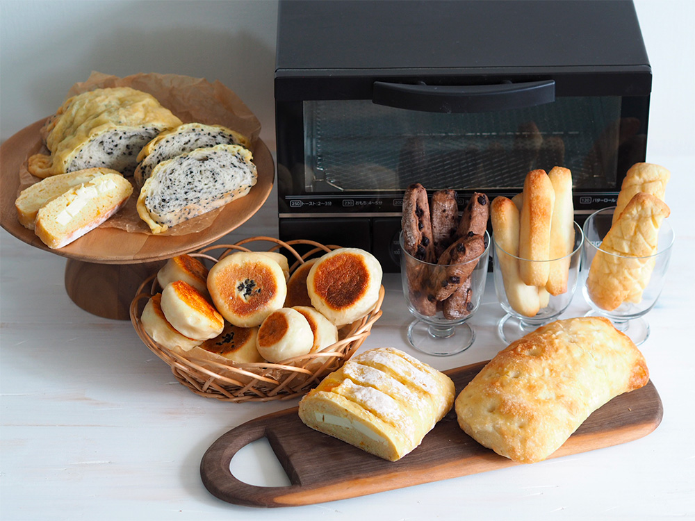 おうちパン基本の9種類