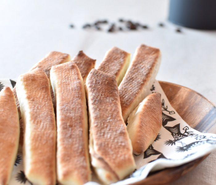 おうちパン講座・ミルクスティックパンを作ろう!